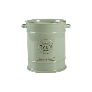 Pride Of Place Large Cooking Tools Jar Old Green image