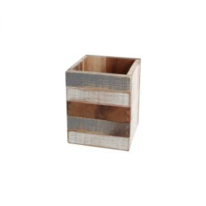 Drift Utensil Box Grey White & Acacia image