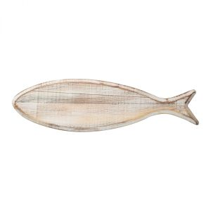 Ocean Fish Board Rustic White image