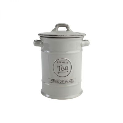 Pride Of Place Tea Jar Cool Grey image