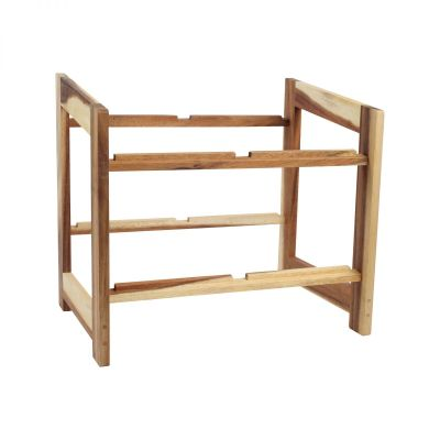 Large Display Rack For Medium & Large Crates Assembled image