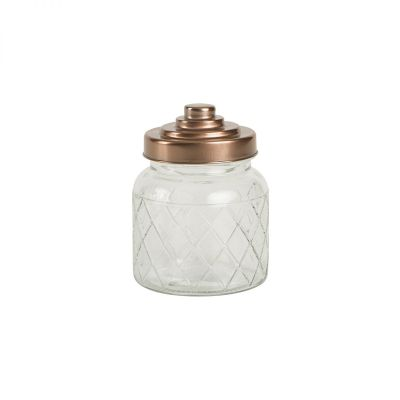 Small Lattice Glass Jar image