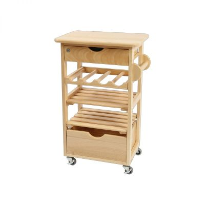 Kitchen Compact Trolley - Flat Packed image