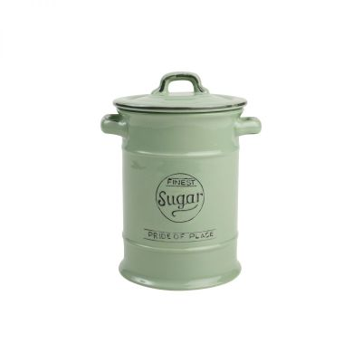 Pride Of Place Sugar Jar Old Green image