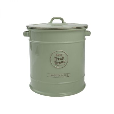 Pride Of Place Bread Crock Old Green image