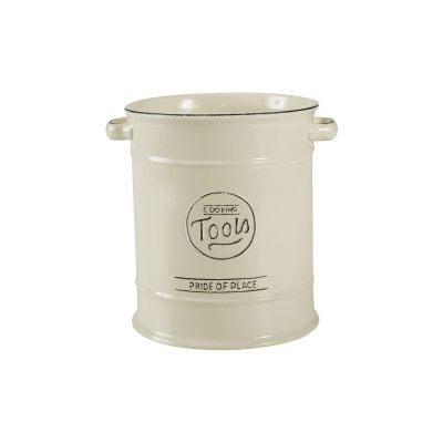 Pride Of Place Large Cooking Tools Jar Old Cream image