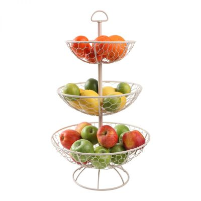 Provence 3 Tier Basket Cream (Self Assembly) image