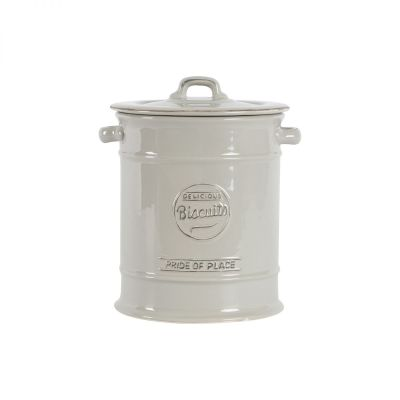 Pride Of Place Large Biscuit Jar Cool Grey image