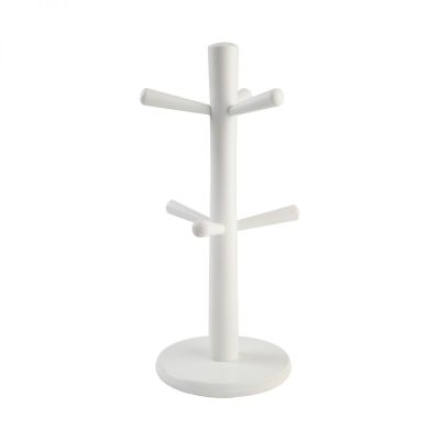 6 Peg Mug Tree White image