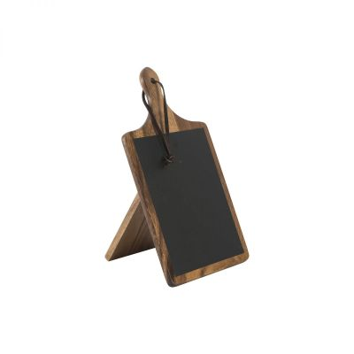 Tuscany Small Paddle Chalk Board With Stand image