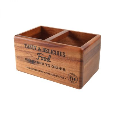 Food Glorious Food Table Tidy & Chalk Board image