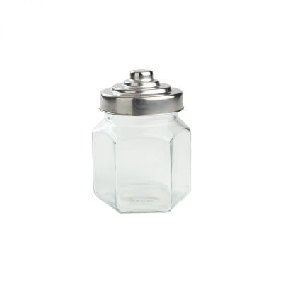 Small Hexagon Glass Jar image