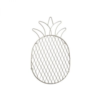 Tutti Frutti Pineapple Trivet Satin Grey image