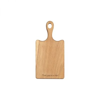 Personalised Rectangular Wooden Board With Handle image