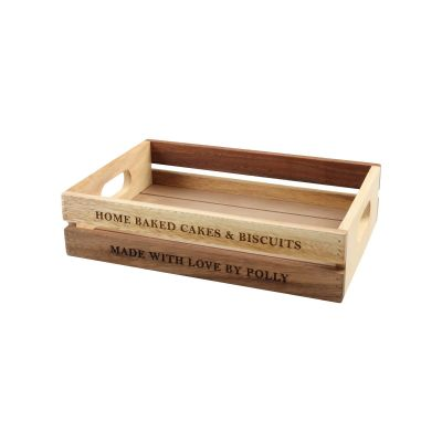 Personalised Wooden Crate image