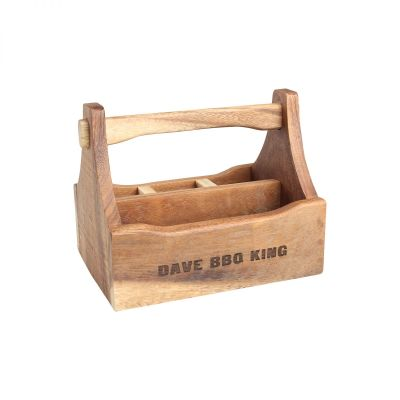 Personalised Wooden Tidy Crate image