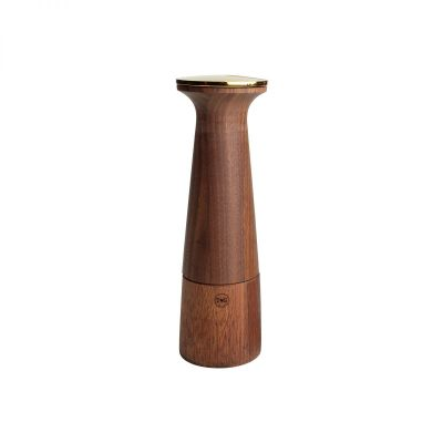Oblique Deco Gold Pepper Mill image