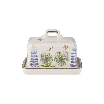 Cottage Garden Butter Dish image