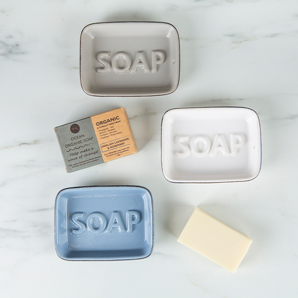 Soap Dishes & Soap image