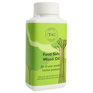 image of T&G's FOOD SAFE WOOD OIL