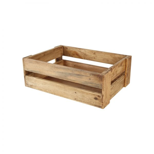 Set 3 Rustic Crates (Nested) (320x240x160mm & 420x300x160mm & 500x350x170mm)