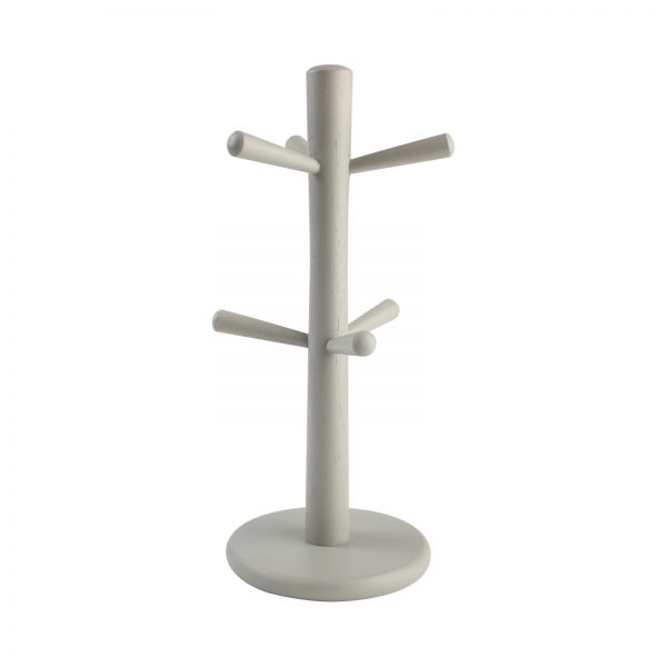 6 Peg Mug Tree Grey