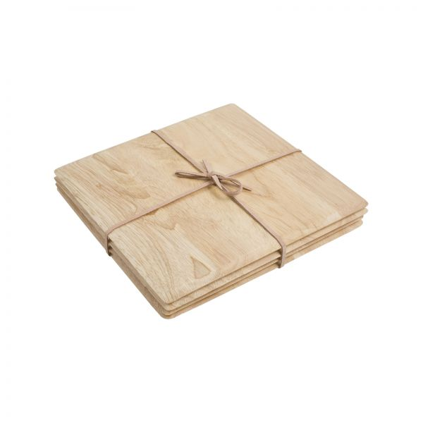Set Of 4 Square Table Mats