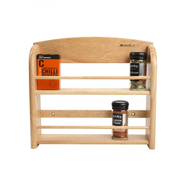 Scimitar 12 Jar Wall Spice Rack (Includes Fixings)