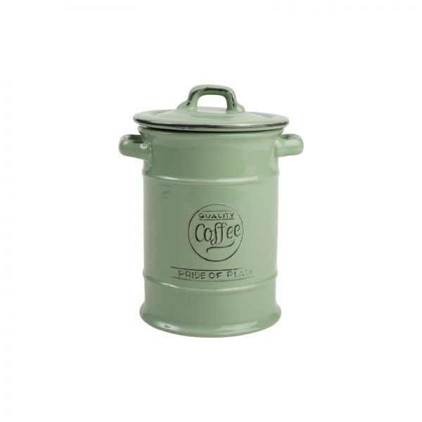 Pride Of Place Coffee Jar Old Green