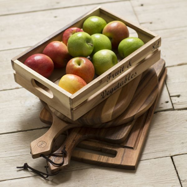 Baroque Medium Crate - Fruit & Vegetables