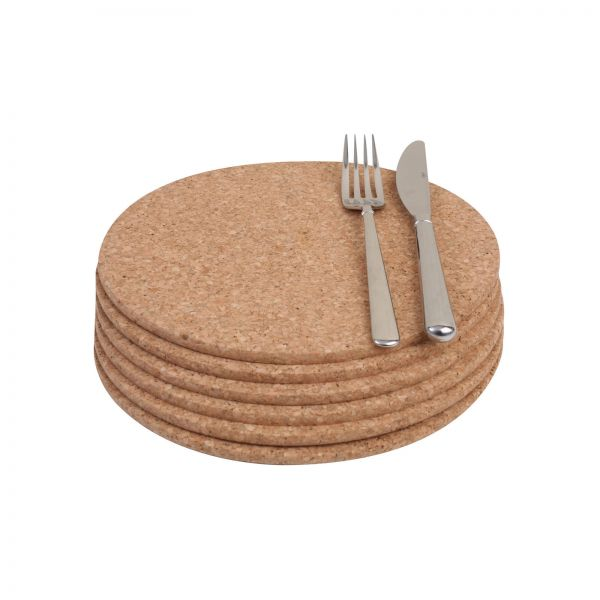 Set Of 6 Round Table Mats