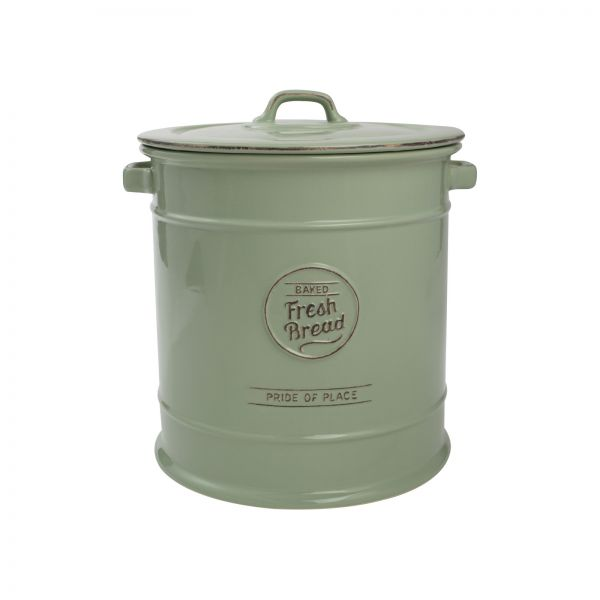 Pride Of Place Bread Crock Old Green