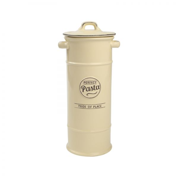 Pride Of Place Pasta Jar Old Cream