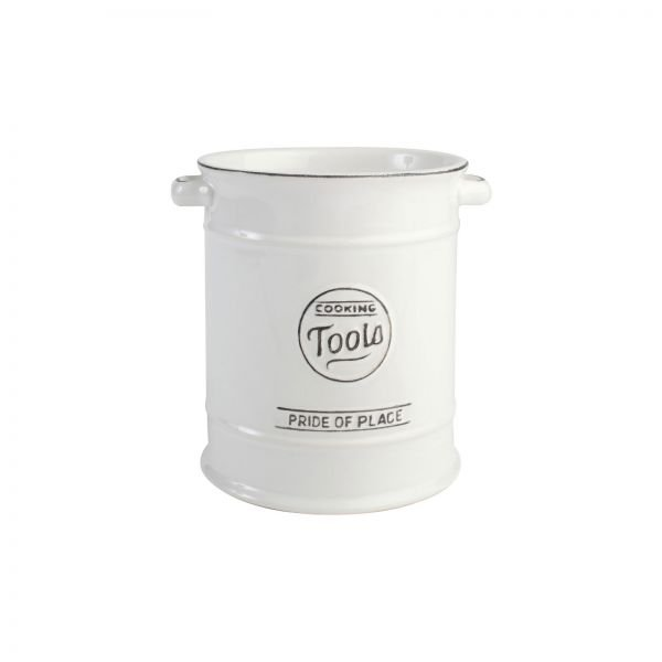 Pride Of Place Large Cooking Tools Jar White