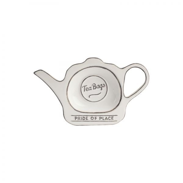 Pride Of Place Tea Bag White
