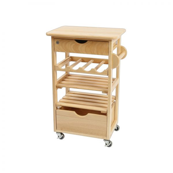 Kitchen Compact Trolley - Flat Packed