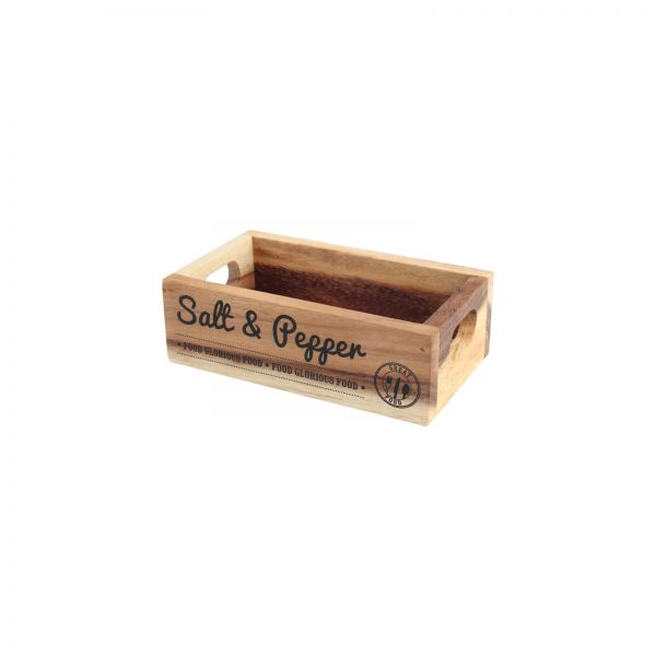 Food Glorious Food Salt & Pepper Crate