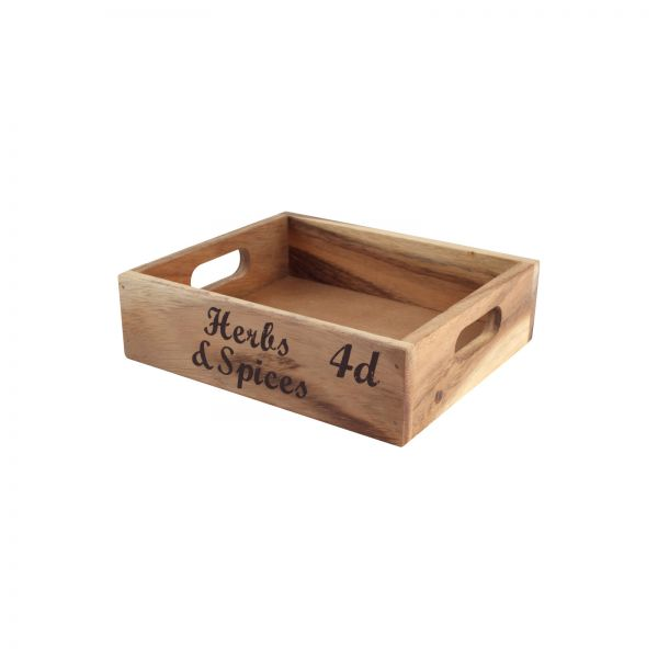 Baroque Crate Box - Herbs & Spices