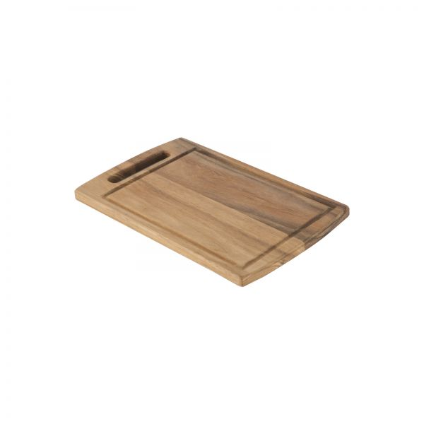 Baroque Small  Rectangular Board With Groove
