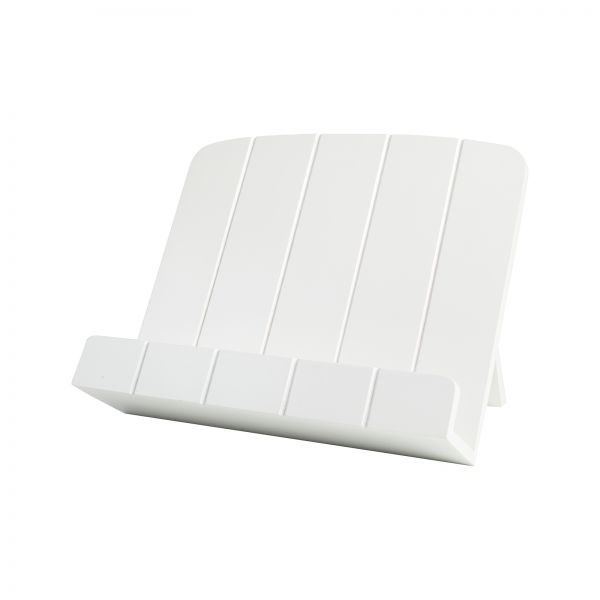 Cook Book Stand White image