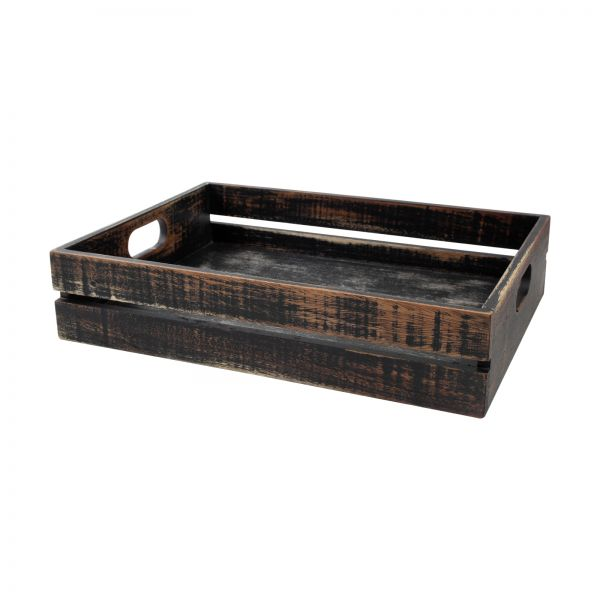 Drift Large Crate Rustic Black image