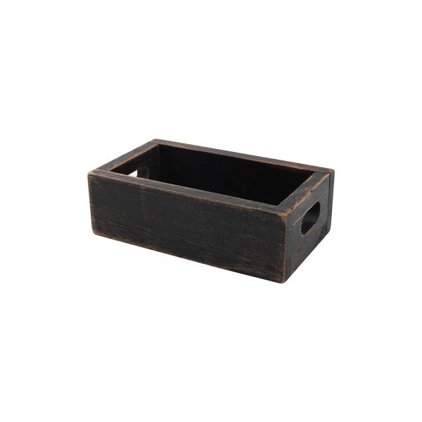 Drift Salt & Pepper Crate Rustic Black image