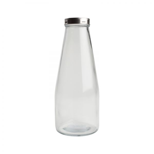 Large Glass Bottle image