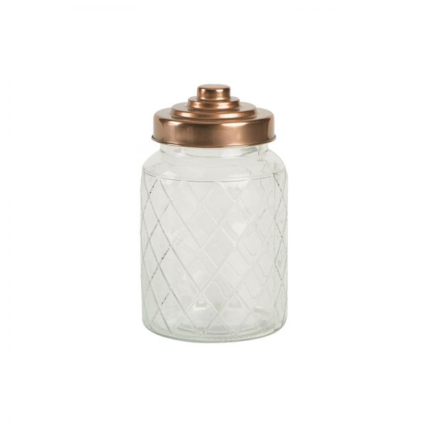 Medium Lattice Glass Jar image