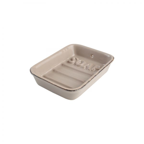 Ocean Line Soap Dish Taupe image