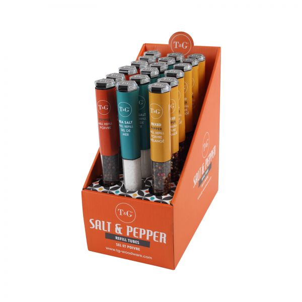 POS Display Box Containing 18 Asst Salt / Pepper Refills image