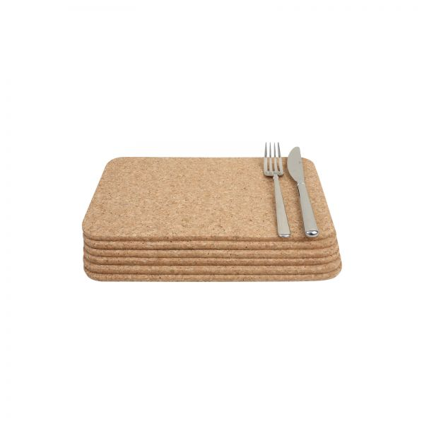 Set Of 6 Rectangular Table Mats image