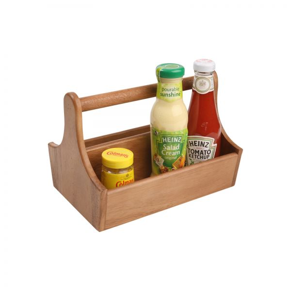 Table Tidy With 2 Compartments and Handle image