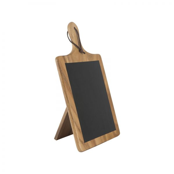 Tuscany Large Paddle Chalk Board With Stand image