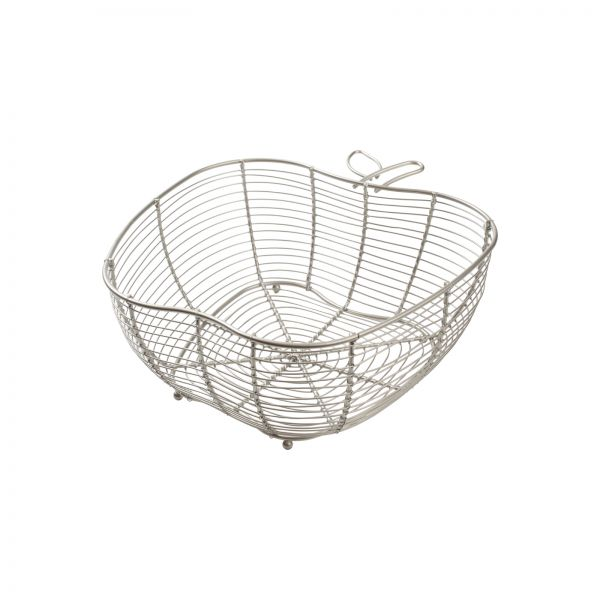 Tutti Frutti Apple Basket Satin Grey image